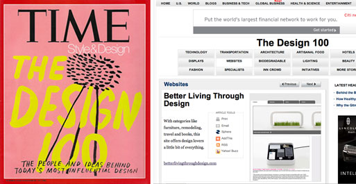 TIME's 2008 Style and Design Issue- The Design 100 & BLTD