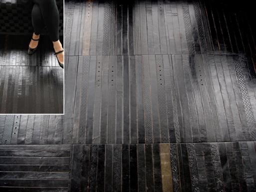 Ting's Leather Belt Floor Tiles