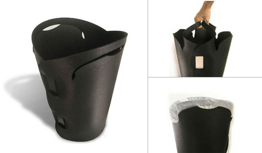 Recycled Tire Wastebasket