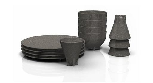 Tom Dixon: Eco Ware Cup Set (4)