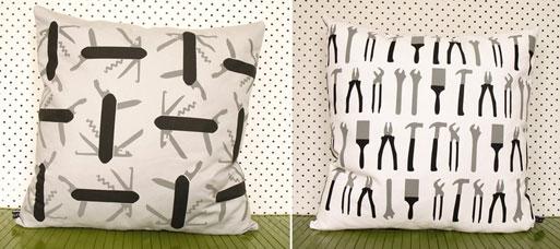 Tool Print Cushions