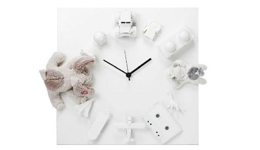 Limited Edition White Treasure Clock