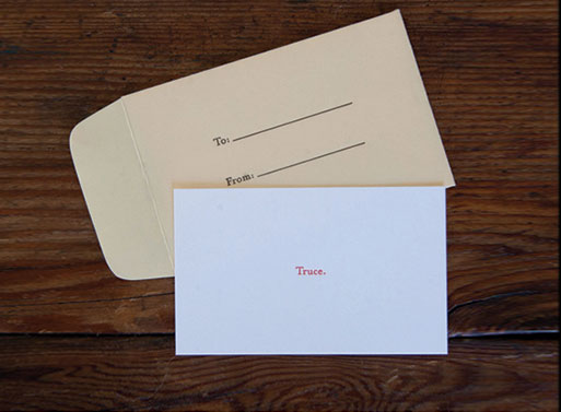 Tiny Letterpress Cards
