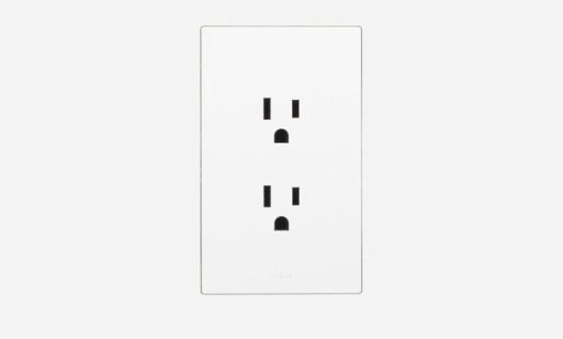 TRUFIG flushmount electrical outlets