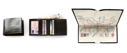 Tube Map Wallet