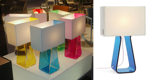 Pablo Tube Top Colored Small Table Lamps