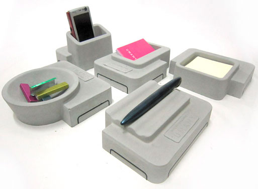 Umamy Concrete Desk Accessories