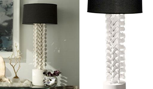 Vertebrae Lamp by Amaridian