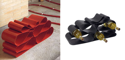 The Vinello Wine Rack by Umbra U+ Collection
