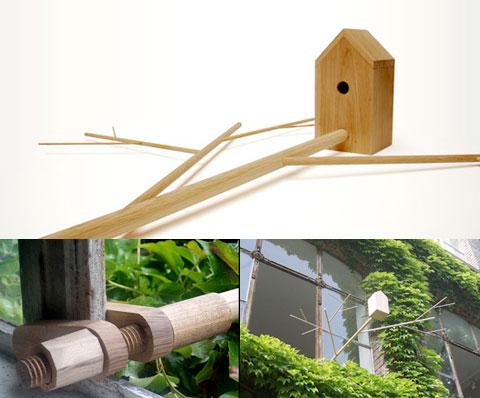 Birdhouse by Emilie Cazin
