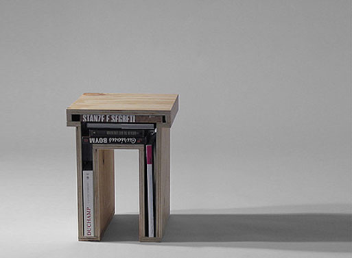 Plywood Void Stool