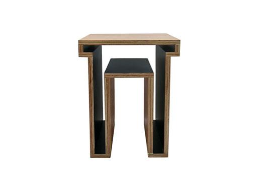 Plywood Void Stool