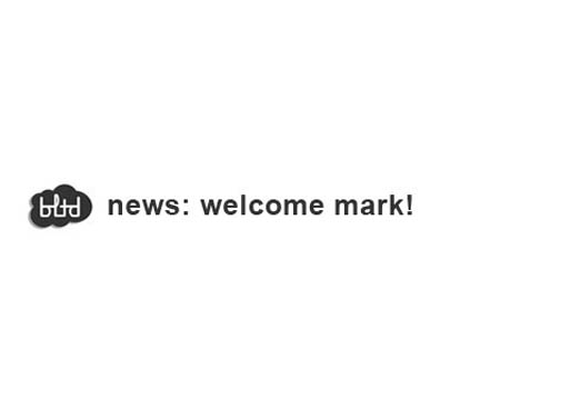 Welcome Mark
