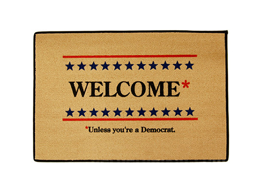 Welcome* Doormat
