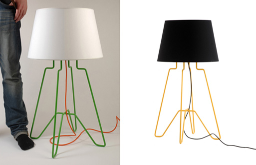 Wired Lamp