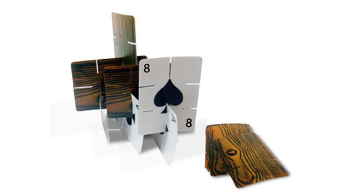 Woodgrain Playing Cards
