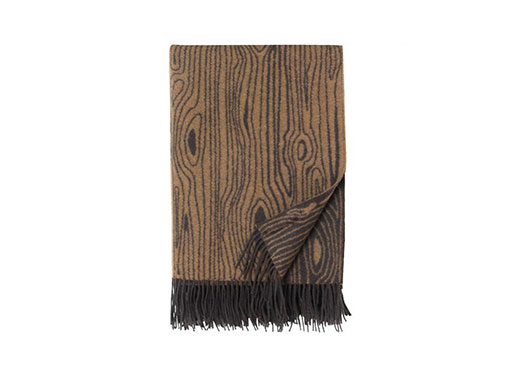 Wooly Wood Throw
