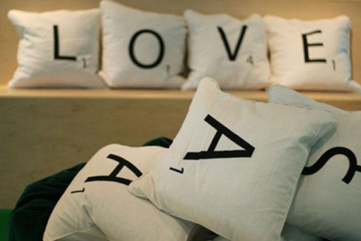 Wordplay Pillows