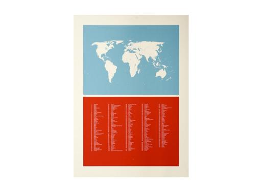 World Map by Joff Casciani