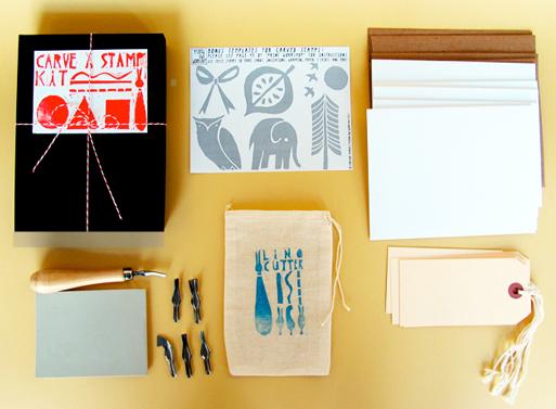 Print Workshop Carve a Stamp Kit