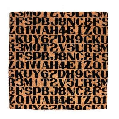 Alexander Girard Alphabet Mat