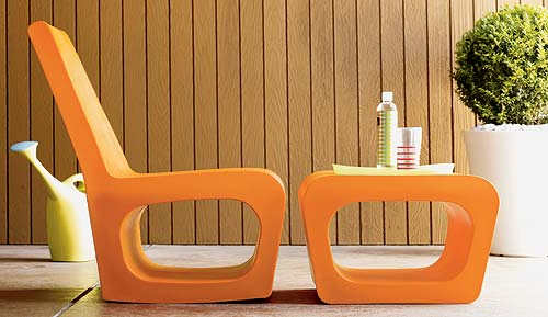 Jellyfish Chair and Ottoman