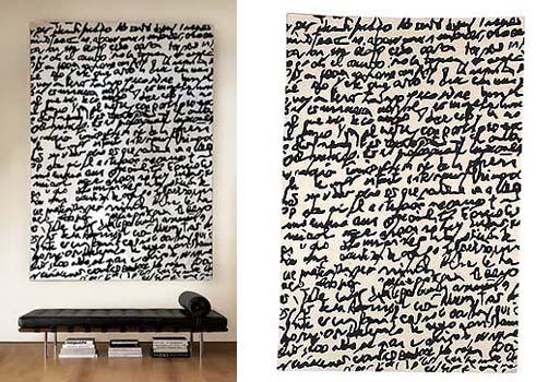 Manuscrit Rug by Joaquim Ruiz Millet