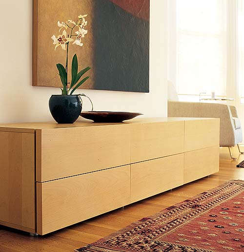 Leggero Six Drawer Dresser