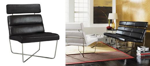 Zurich Lounge Chair & Ottoman