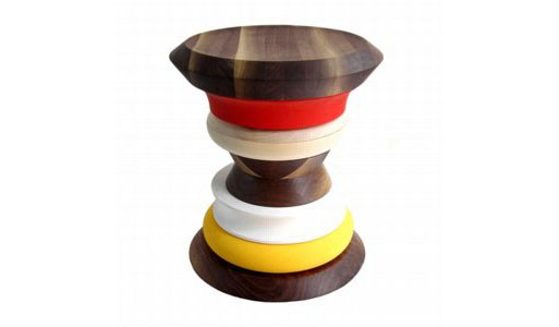 Stack Stool by Ruby Metzner and Sather Duke