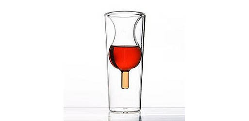 InsideOut Collection Liqueur Glass