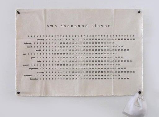 Two Thousand Eleven Calendar