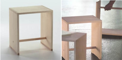max bill ulmer hocker stool furnishings better living through design. Black Bedroom Furniture Sets. Home Design Ideas