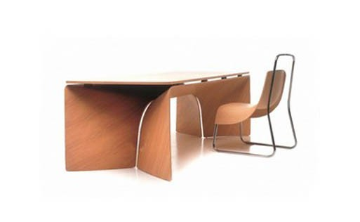 'big bend' desk by jeff miller for baleri italia