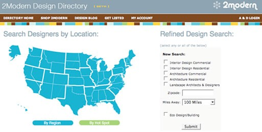 2modern Design Directory