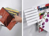 Illuzine Magazine Rack and Flybrary Bookshelf