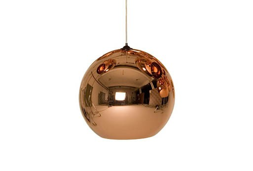 Copper Shade suspension light