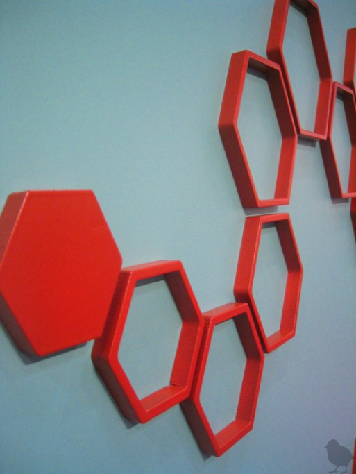 Fold Wallter Hex wall applications