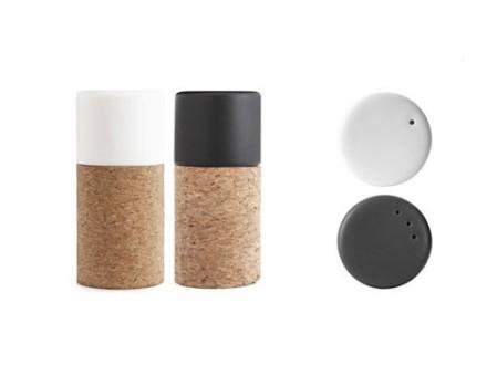 58′ N Salt and Pepper Shakers