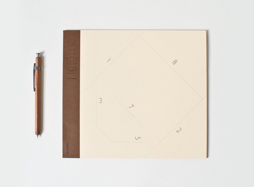 601Street 4×4 Envelope Notebook