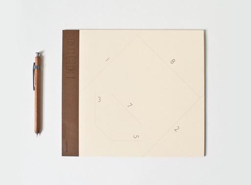 601Street 4×4 Envelope Notebook