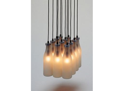 Droog Milk Bottle Lamp