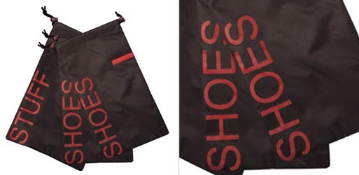 Shoes and Stuff Travel Bags (set of 3)