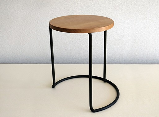 Stackable stool table by atelier de troupe — furnishings