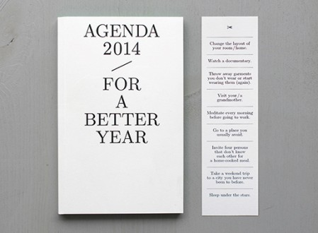 agenda 2014 – For a Better Year