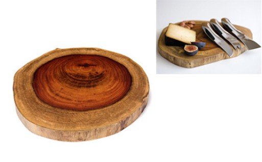 Amboyna Wood Cheese Board