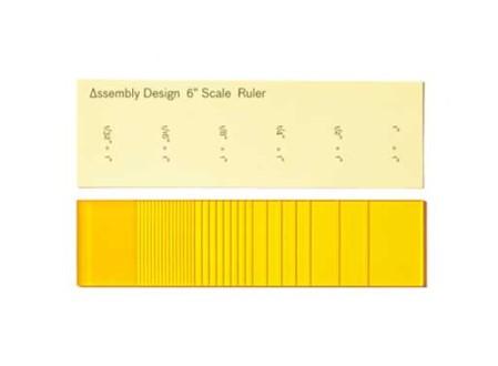 6 Inch Scale Ruler