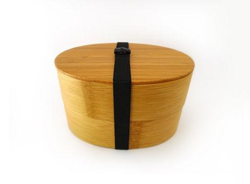 Bamboo Round Bento Box