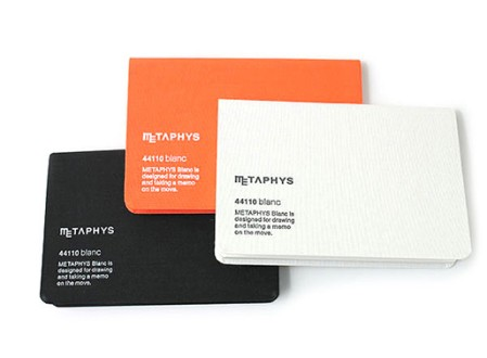 Blanc 44110 Notebook by Metaphys
