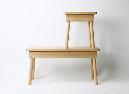 Brace Bench and Stool